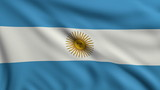 Flag of Argentina looping