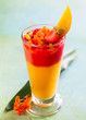 mango and strawberry smoothie