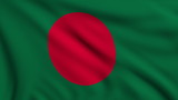 Flag of Bangladesh looping