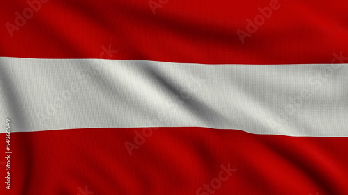 Flag of Austria looping