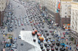 Traffic jam on Tverskaya st.