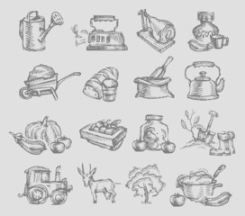 Village icons