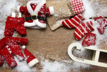 Weihnachtsgrüße blanco