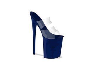 Scarpa donna blu