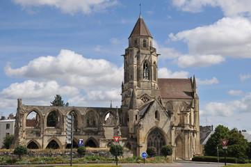 Vue générale 2, Eglise Saint Etienne le Vieux, Caen