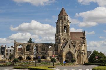Vue générale, Eglise Saint Etienne le Vieux, Caen