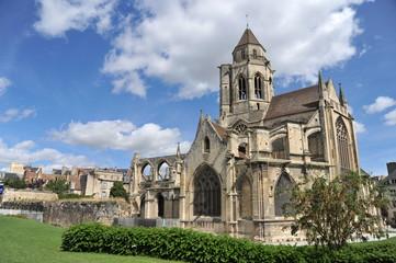 Vue générale 3, Eglise Saint Etienne le Vieux, Caen