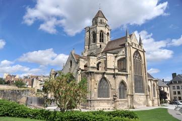 Vue générale 4, Eglise Saint Etienne le Vieux, Caen