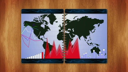 Business Book, Open / Close, Loop - HD1080