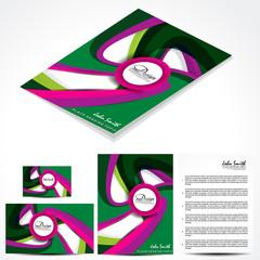 Modern Brochure Template Design