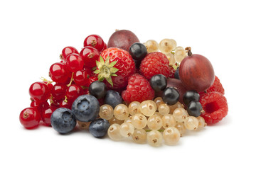 Composition of summer berries