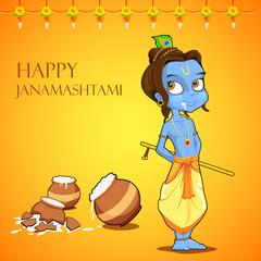 Lord Krishana in Janmashtami