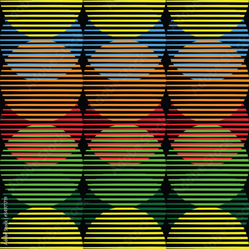 Obraz na Szkle vector color abstract seamless background