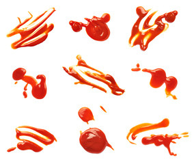 ketchup stain fleck