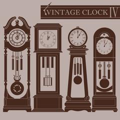 Vintage clock IV