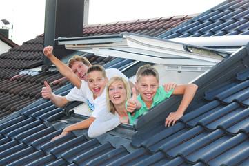 Dachfenster Familie