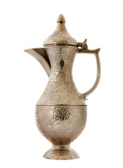 Turkish ottoman style metal pitcher