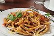 Closeup of Japanese Pan Noodles