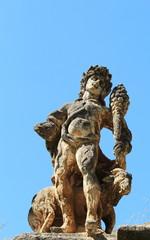 Mostro di pietra a villa Palagonia