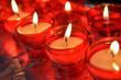 firing candles in catholic church