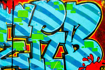 Abstract grafitti background