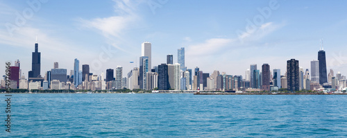 Aluminium Chicago Chicago skyline