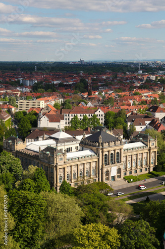 The Lower Saxony State Museum in Hannover, Germany