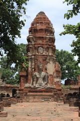 ワットマハータートの仏像