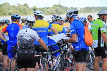 Cyclotourisme - Passage de La Loire