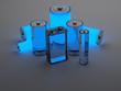 Leinwanddruck Bild - fuel cell