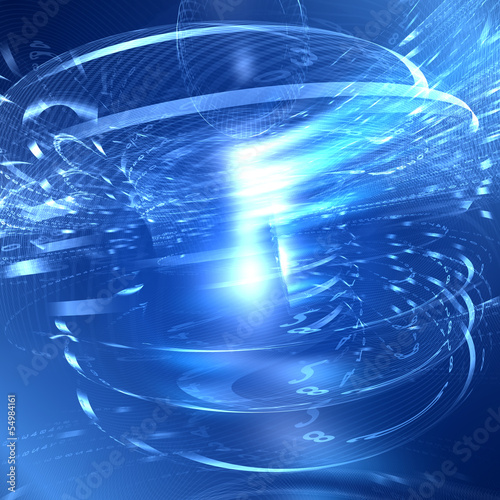 Abstract fantastic light background
