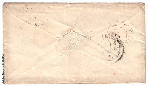 Antique envelope