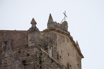 View to church in Erice
