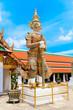 Statue of demon (Giant, Titan) at Wat Arun