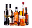 Different alcoholic drinks - 54987960