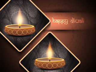 elegant background design for diwali festival
