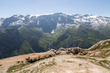 Vue sur les Glaciers de la vanoise
