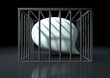 Censorship Of Speech Caged