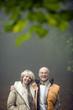 Deutschland, Baden-Württemberg, Schwäbische Alb, Portrait eines älteren Paares