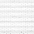 white brick wall vector texture