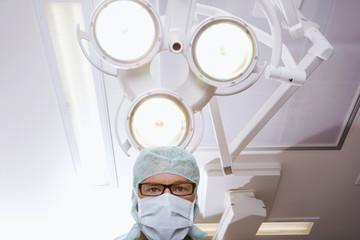 Chirurg in OP-Saal