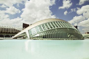 Spanien, Valencia, Blick auf Museum
