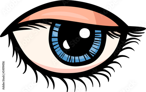 eye clip art cartoon illustration