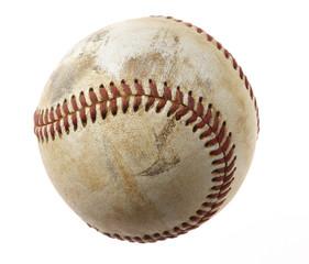Baseball auf weißem Hintergrund