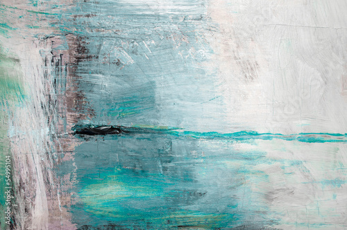 Oil painting abstract texture background - 54995104
