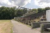 abandoned soccer field from wageningen in Holland