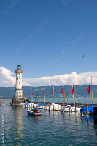 Lindau at Lake Constance