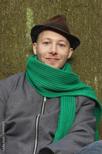 Deutschland, Berlin, Wandlitz, Junger Mann