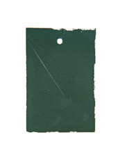 blank cardboard paper label