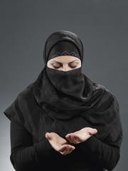Muslimin betet